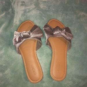 Slide on flip flops